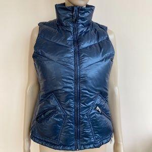 JCrew Women's S Blue Down Puffer Ski Casual Vest